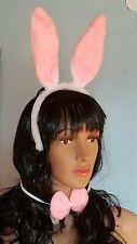 Hasenkostüm, Hasenohren - Schleife - Schwanz  Haareifen Ohren Karneval Fasching