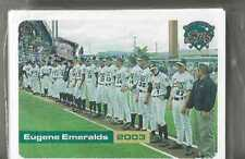 2003 EUGENE EMERALDS COMPLETE TEAM SET SS PADRES NORTHWEST LGE SEALED new