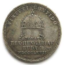 [R1819] Krönungsjeton 1867, Ungarn, Franz Joseph I. (1848-1916)
