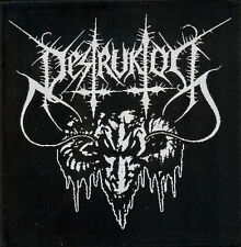 Destruktor Patch Destroyer 666 Gospel Of The Horns Atomizer Abominator Vomitor