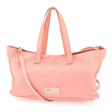 Red Valentino Shoulder bag Pink leather Woman Authentic Used T8208