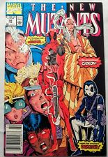 The New Mutants #98 Newstand 1st appearance of Deadpool, Gideon, Domino - VF/NM