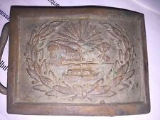 Ohio belt buckle with seal of Ohio, Old Maybe Civil War
