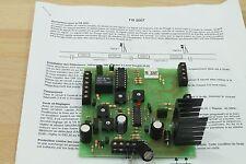 FB Systems N° FB 2007 électronique régulant un contrôle de canton ( Block system