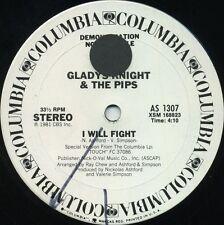 GLADYS KNIGHT & the PIPS I Will Fight b/w God Is (U.S. White Label Promo 12inch)