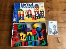 Arcadia Spiel von Selecta Bausteine Holzklötze Holzspielzeug Kinder ? Waldorf