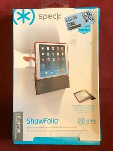 Tablet CASE for iPad Mini - ShowFolio folding case- Speck - red - New in Box