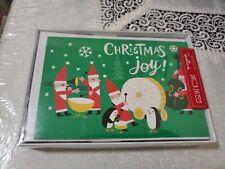 "16 HALLMARK CHRISTMAS CARDS ""Christmas  Joy"" Seasons NEW"