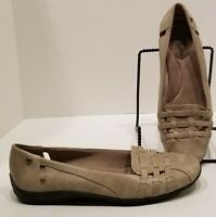 Lifestride Danna Flats, Women's Size 8 1/2 M, Taupe