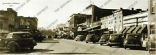 "Greensboro, Alabama 1947 Historic Sepia Photo Reprint 5x14"" FREE SHIPPING!"