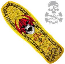 Powell Peralta Per Welinder Nordic Skull Skateboard Deck '80s Yel' Bones Brigade