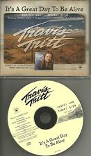 TRAVIS TRITT  It's a Great Day to be Alive 2000 USA PROMO Radio CD Single MINT