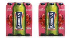 Barbican Raspberry Flavor Non Alcoholic Malt Beverage 2 x 6 Packs 330ML Bottles
