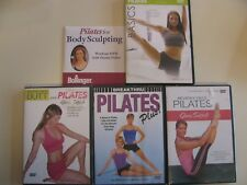Lot of 5 Pilates Workout Dvds Get in Shape Dvds