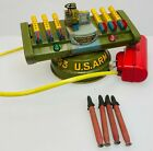 Antique Remote Control Guided Missile Launcher Toy
