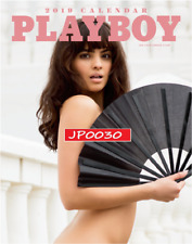 Playboy 2019 NUDE Calendar, Brand New Factory Sealed, NEWSSTAND EDITION