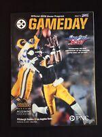 Pittsburgh Steelers vs Los Angeles Rams GameDay Stadium Program 11.10.2019
