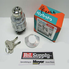 Genuine Oem Kubota Ignition Switch Wg600 Wg750 Part # 12581-55120