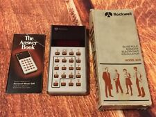 Vintage Rockwell The Answer Book Model 30R With Box And Original Manual