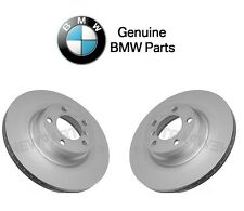 For BMW F22 228i 328i 330e Pair Set of 2 Front Vented Disc Brake Rotors Genuine