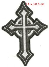 Cross white - patch - FREE SHIPPING