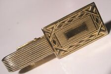 Engrave Ready Vintage Sarah Coventry Tie Bar Clip gift