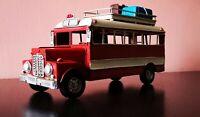 REISEBUS US OLDTIMER Bus Omnibus Blechauto Blech Modellauto