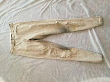 Pikeur Womens Full Seat Breeches Tan Check sz 28L GUC