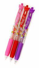 San-X Rilakkuma Zebra SARASA Limited Edition 0.4mm Gel Pen 3 Colors Set Reg Ship