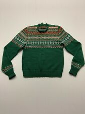 New listing Mens Small 1950's Homemade Wool Sweater Vintage