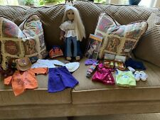 Lot of Julie American Girl Doll,  Outfits,  And Accessories All Pictured