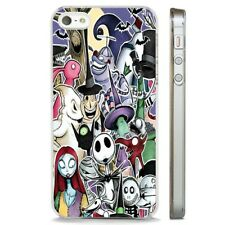 Collage Nightmare Before Christmas CLEAR PHONE CASE COVER fits iPHONE 5 6 7 8 X