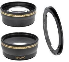 XT 58mm Wide/Telephoto Lens for Canon PowerShot SX60 SX50 SX40 HS SX30 SX20 SX10