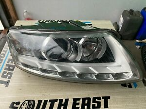 AUDI A6 C6 FACELIFT 2011 XENON HEADLIGHT COMPLETE O/S DRIVERS SIDE *REPAIR*