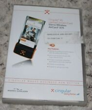 Cingular 3G Laptop Connect Card Sierra Wireless AirCard 875