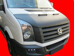 CAR HOOD BRA fit Volkswagen Crafter 2006-2016  NOSE FRONT END MASK TUNING