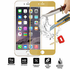FULL Cover 3D Tempered Glass Front Cover Screen Protector For Apple Iphones
