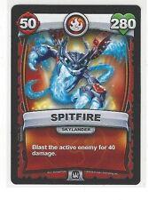 2016 SKYLANDERS BATTLECAST SPITFIRE SKYLANDER CARD