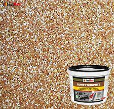 Mosaikputz Buntsteinputz BP 40 (braun, weiss, gelb) 15 kg Fertigputz Sockelputz