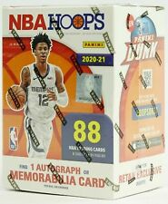 Panini 2021 NBA Hoops Basketball Blaster Box Sports Trading Card