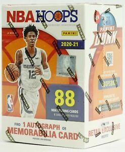 2020 2021 Panini NBA Hoops SEALED Blaster Box 88 Basketball Cards
