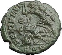 CONSTANTIUS II Constantine the Great son Ancient Roman Coin Battle Horse i54882