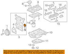 Chevrolet GM OEM 2016 Volt Camshaft Cam-Front Cover Seal 12661527