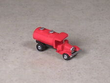 Z Scale 1937 Red Ford Fuel Tank Truck
