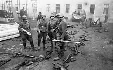 WWII B&W Photo German Soldiers Budapest 1944 WW2 World War Two Wehrmacht / 2027