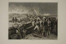 Prise du TROCADERO Espagne 1823, Roi Ferdinand VII, d'ap.tableau de P. DELAROCHE