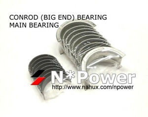 CONROD BIG END & MAIN BEARING (with tang) FOR Daihatsu K3-VE 1.3L Terios Sirion