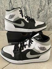 Jordan 1 Mid White Shadow Size 9