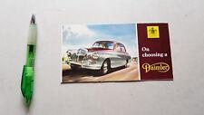 Daimler produzione auto 1960 depliant originale spagnolo brochure