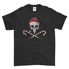 Punk Rock Skull Rock Santa Christmas Xmas Mens T Shirt Top Tee